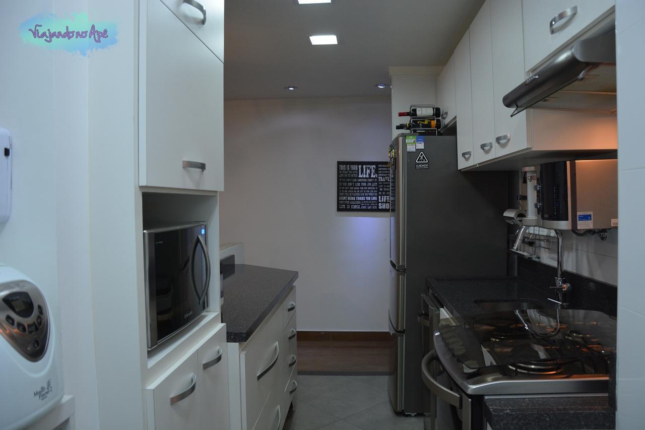 Cozinha Corredor Viajando no Apê #945737 1280 853
