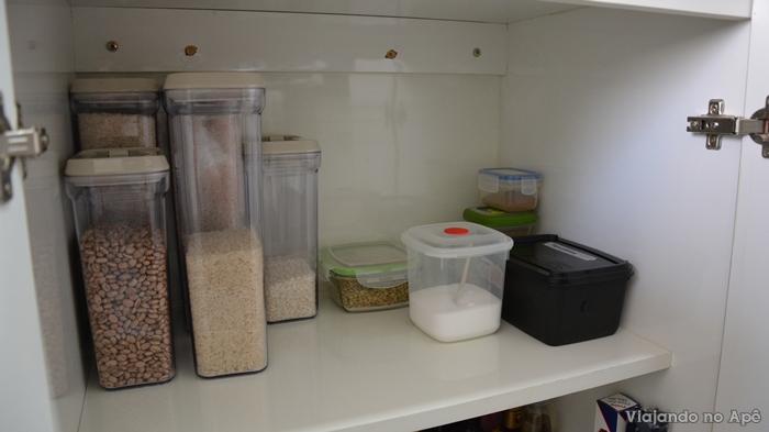 Organiza o dos arm rios da cozinha e detalhes parte 1 - Armarios despensa ...
