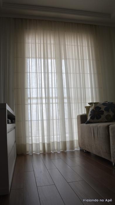 persiana romana cortina voil cortineiro sala