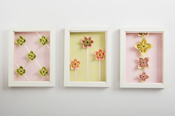quadros origami
