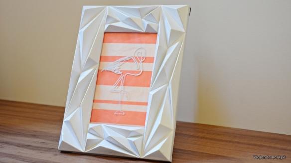 flamingo caneta posca desenho vidro