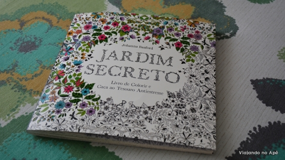 Jardim Secreto Johanna Basford