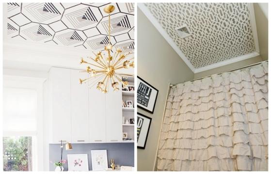 teto decorado decoracao teto cozinha banheiro